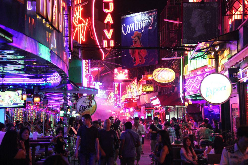 Patpong nachtmarkt Bangkok