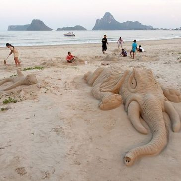 Stranden in Thailand